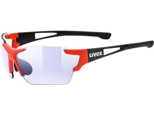 UVEX Sportstyle 803 Race VM Sportglasses black red matt/ltm.blue